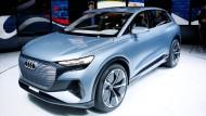Audis Hoffnung ruht auch auf der neuen Elektroautoserie.