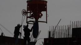 Die Baubranche ist weiter optimistisch
