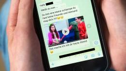 Wenn das eigene Kind per Whatsapp bedroht wird