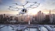 Verkehr der (fernen) Zukunft: Eine Animation des Autoherstellers Daimler