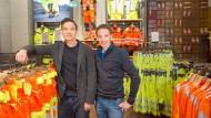 Henning (links) und Steffen Strauss in Biebergemünd