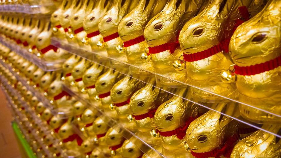 Nur selten ein Ladenhüter: Lindt-Schokolade beschert dem Konzern hohe Gewinne und den Aktionären verlässliche Dividenden