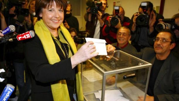 Frankreichs Sozialisten wählen Aubry