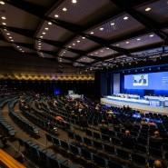 Hauptversammlung der Deutschen Börse AG in der Frankfurter Jahrhunderthalle