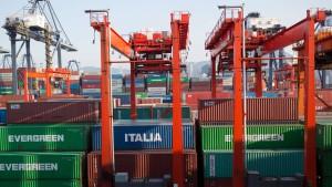 Chinas Außenhandel meldet sich zurück