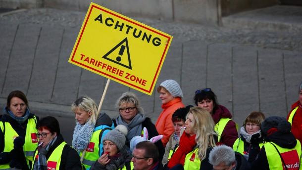 Tarifbindung nimmt in Deutschland weiter ab