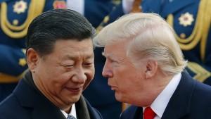 Auf was sollen sich Trump und Xi einigen?