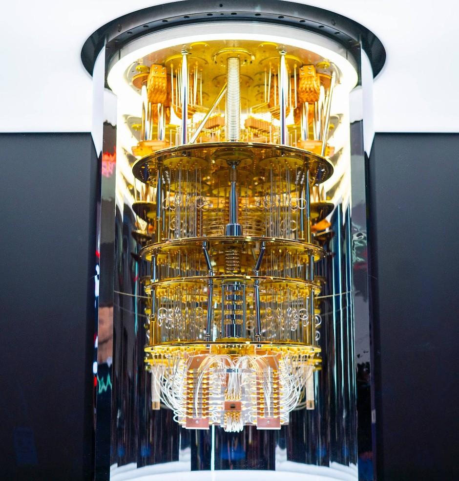Ein IBM-Quantencomputer der Serie Q-System-One