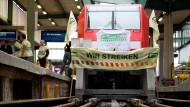 Lokführer entscheiden sich für Streik bei der Bahn