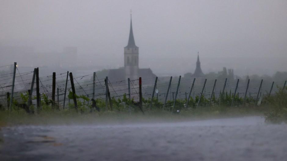 Durch den Klimawandel steigt die Wahrscheinlichkeit für Starkregenereignisse