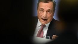 EZB hält Leitzins auf null Prozent