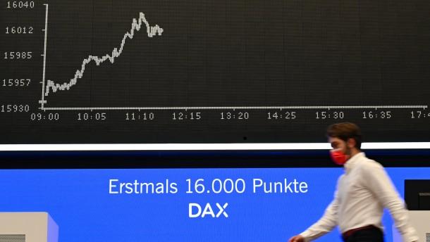 M-Dax erklimmt Rekordhoch