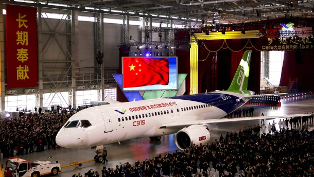Mit diesem Flugzeug greift China nach der Lufthoheit