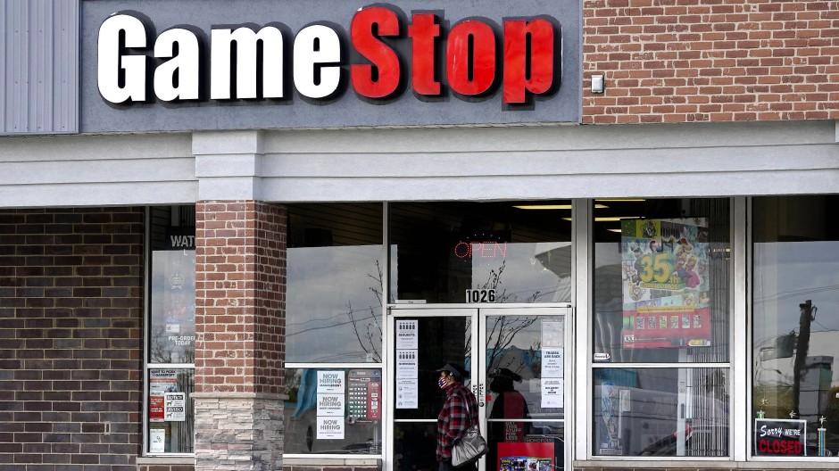 Ein Gamestop-Geschäft in Des Plaines
