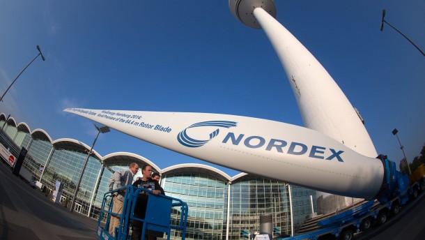 Nordex macht Anlegern Hoffnung auf eine Dividende