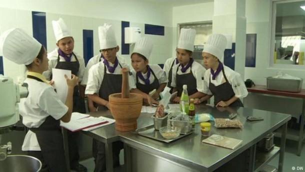 Kambodschas Akademie der Spitzenköche