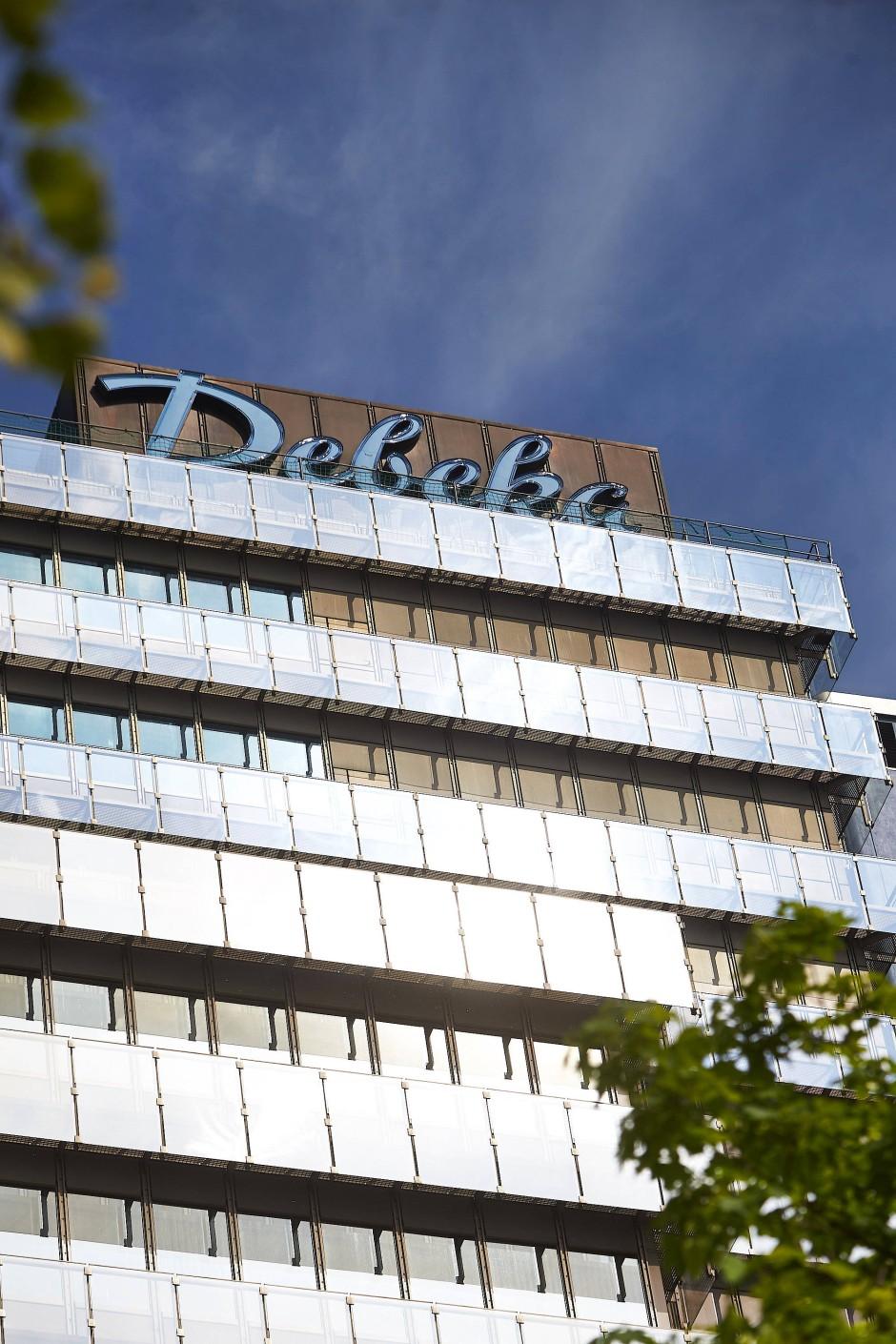 Im bescheidenen Hauptsitz der Debeka gibt es nicht einmal warmes Wasser. So bleibt mehr für den Kunden.
