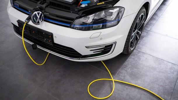 Elektroautos schaffen Klimaziele nicht alleine