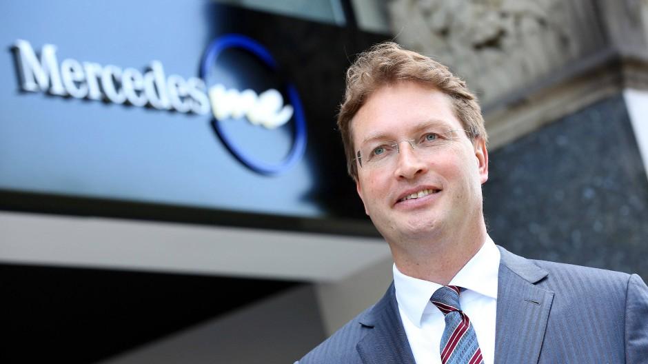 Neu an der Spitze bei Daimler: Ola Källenius
