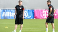 Pep Guardiola bereitet seine Mannschaft auf Rückspiel vor