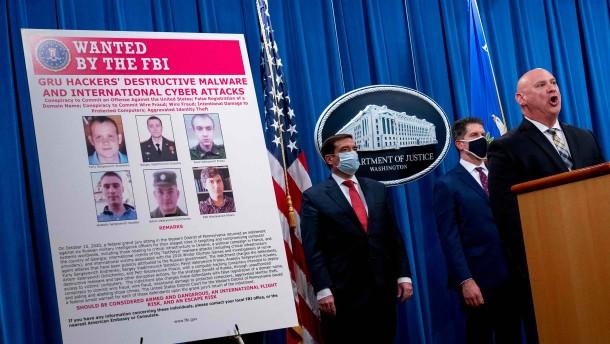 Anklage gegen sechs russische Hacker