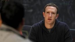 Facebook-Aktienkurs fällt um 8 Prozent