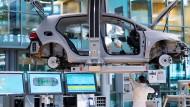 Fährt nur mit Strom: Für den E-Golf verbaut Volkswagen bislang Batteriezellen unter anderem von einem südkoreanischen Hersteller.
