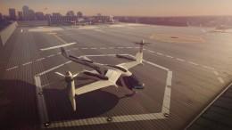 Flugtaxi fliegen mit Uber