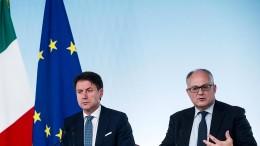 Italien verschiebt Sanierung der Staatsfinanzen