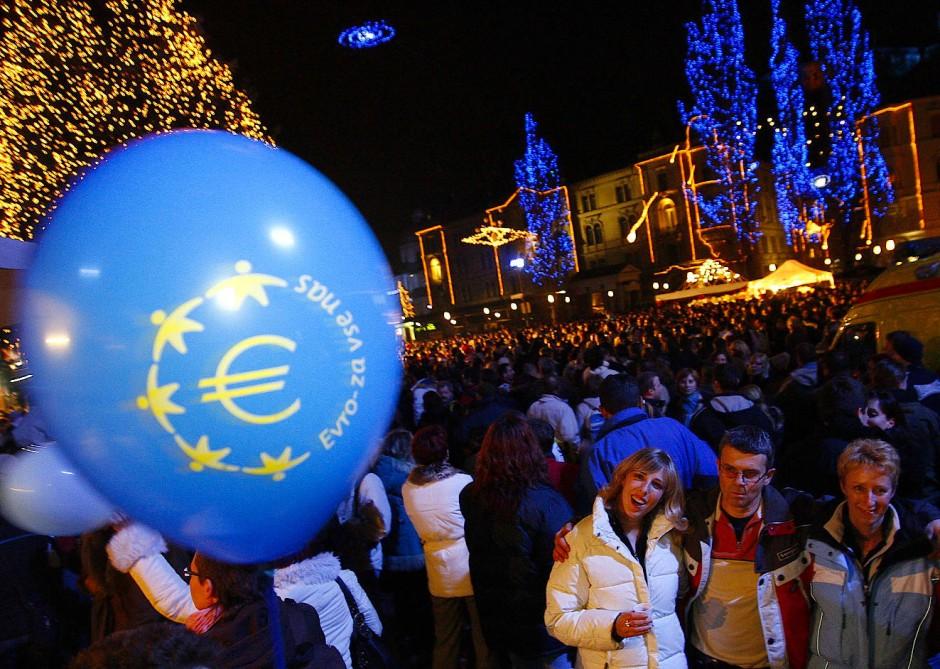 Anfang 2007 trat Slowenien dem Euro bei. Die osteuropäischen Ländern können ihre Marktanteile in der EU am meisten steigern.