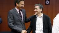 Euro-Finanzminister stimmen drittem Hilfspaket zu