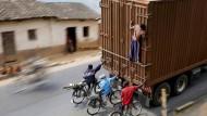 Entwicklungsfähig: Transport in Burundi.