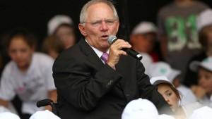 Schäubles langsamer Rückzug vom Eurogruppen-Vorsitz