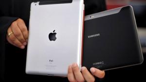 Apple und Samsung treffen sich zum bisher größten Prozess