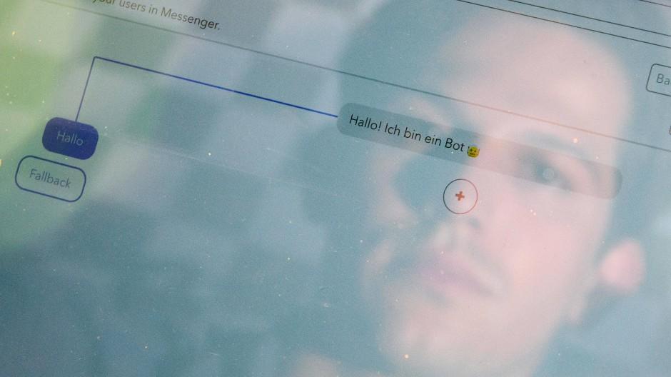 """""""Hallo! Ich bin ein Bot"""""""