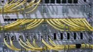 Verwundbar: Ein Netzwerk auf der CeBIT in Hannover