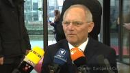 Schäuble vor dem Finanzministertreffen