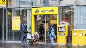 Postbank schimpft auf Google