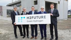 So soll die größte Wasserstoffanlage der Welt aussehen