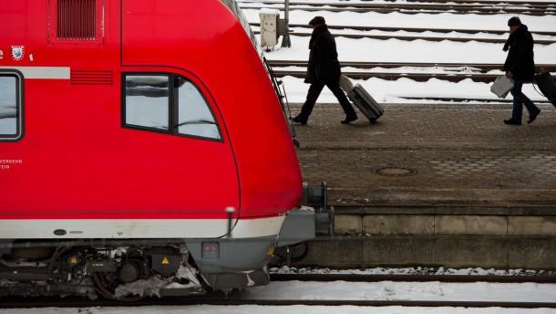 Winterwetter fordert Deutsche Bahn
