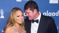 Kurzes Vergnügen: Casinobesitzer und Milliardär James Packer mit seiner ehemaligen Verlobten Mariah Carey 2016 in New York