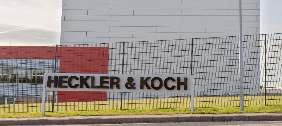 Deutscher Waffenhersteller Heckler Koch Wer Zieht Die Fäden