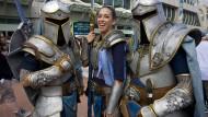 """Kampfeslustig: Figuren aus dem Computerspiel """"World of Warcraft"""""""