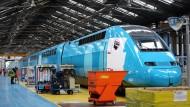 """Mit dem neuen Billig-Schnellzug """"Ouigo"""" will die französische Staatsbahn neue Geschäftsfelder erschließen"""