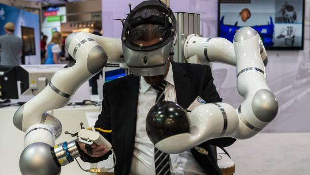 Hilfe, die Roboter kommen!
