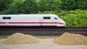 Verspätungen auf der ICE-Strecke zwischen Frankfurt und Hamburg