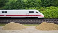 ICE auf der Strecke Hannover-Göttingen: Für sechs Monate wird die Verbindung gesperrt.