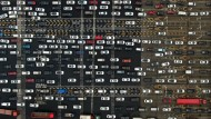 In der Theorie sollte die Mobilität in China eigentlich florieren – in der Realität sieht der Straßenverkehr in Nanjing aber eher so aus.