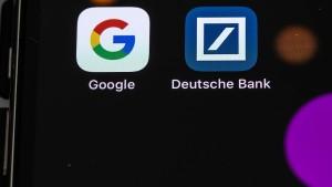 Landen meine Kontodaten jetzt in der Google-Cloud?