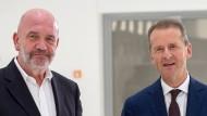 Arbeit und Kapital: Bernd Osterloh (links) und Herbert Diess.